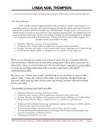 Cover Letter Resume Cover Letter Example Examples of resume cover