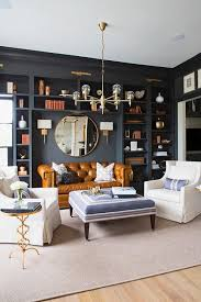 brass living room interior decor