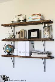 DIY Office Shelves By The Wood Grain Cottage  Pinterest
