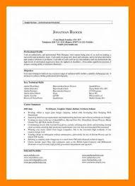 11 Profile Section Of Resume The Stuffedolive Restaurant