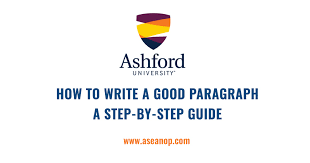 How To Write A Good Paragraph A Step By Step Guide Asean