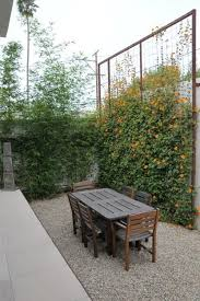 green fence and wall design for outdor home decorating with flowers and  plants  Backyard PrivacyPrivacy ...