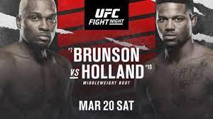 Derek Brunson vs. Kevin Holland: How to ...