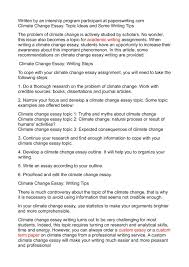 global warming essay for students essay for climate change essay  essay for climate change calamatildecopyo climate change essay topic ideas and some writing tips