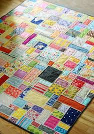 1875 best Quilts images on Pinterest | Quilting ideas, Quilt ... & backing, batting, white fabric and scraps. place scraps on top and quilt as  you go. (This was done on a longarm. Wondering how well it would work on a  ... Adamdwight.com