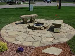 Nice Round Patio Stones Paver Designs To Inspiration Round Patio