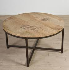rustic round coffee table enter home rustic end table
