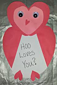 valentine s day card ideas for kids. Modren Valentine Owl Valentines Day Craft Card For Valentine S Day Card Ideas Kids
