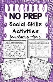 best images about school social work group work social skills no prep social skills for older students