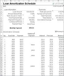 Amortize A Loan Formula Loan Zation Table Excel Payoff Template Schedule Download With Extra