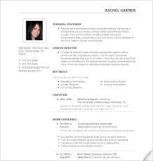 Job Resume Formats Resume Job Resume Format Doc Download Resume