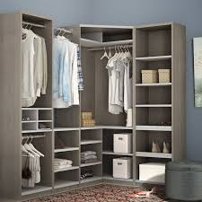walk in closet systems. Wilbur Classic Corner Walk 75.9\ In Closet Systems A
