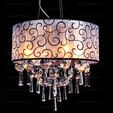 6 light crystal royal style electroplated lights for