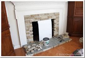 chic design fireplace makeovers on a budget 5