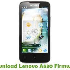 Download Lenovo A830 Firmware - Android ...