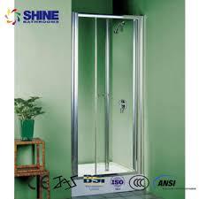 solid bifold shower door panels