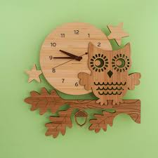 Owl Bedroom Accessories Accessories Cute Children Clock For Wall Decoration In Unisex Kid