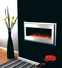gmhome 40 electric fireplace wall mounted heater small f electric wall fireplace