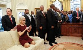 oval office july 2015. President Donald Trump, Right, Meets With Leaders Of Historically Black Colleges And Universities ( Oval Office July 2015