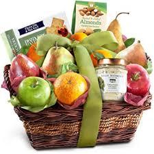 fruit basket. Beautiful Fruit Classic Gourmet Fruit Basket Gift In