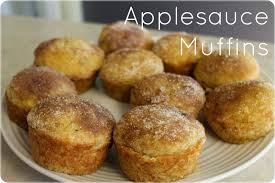 my little corner of the world  applesauce muffins