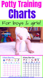 Potty Training Charts For Girls Potty Training Success Charts For Boys Girls Italianpolishmomma Com