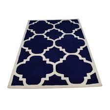 safavieh safavieh moroccan cambridge navy ivory rug