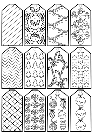 Many thematic printable papers this christmas that could be a lovely way to boost the creativity of your kids! Free Printable Christmas Gift Tags To Colour Mum In The Madhouse