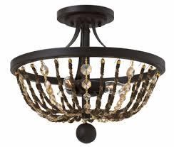 hamlet semi flush ceiling light image