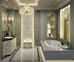 Beautiful Bathroom Tile Beautiful Bathroom With Alcove Bathtub With Gorgeous Gray Textured