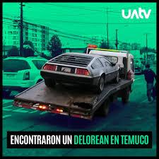Resultado de imagen para DELOREAN VOLVER AL FUTURO ESTA EN CHILE