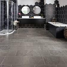 natural stone flooring vs luxury vinyl tile