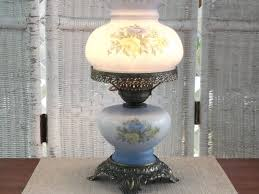 vintage blue glass lamp vintage light fixtures pink lamp antique lamp s