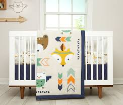 image of little fox baby bedding