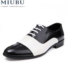 <b>MIUBU</b> Spring Autumn Fashion Men <b>Shoes</b> Patent Leather Men ...