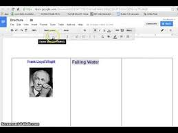 Google Drive Templates Brochure How To Create Brochure With Google Docs