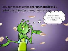 characters and character qualities