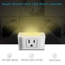 White Outlet To Socket Light Plug Shentesel Wifi Smart Plug Wireless App Control Us Socket
