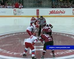 Олимпийская сборная России по хоккею провела две контрольные игры