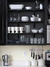 For Shelves In Kitchen The Benefits Of Open Shelving In The Kitchen Hgtvs Decorating
