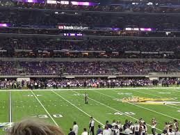 Us Bank Seating Chart Vikings Minnesota Vikings Club Seating At U S Bank Stadium