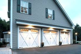 farmhouse garage carriage style garage doors carriage style garage farmhouse with gray exterior homes farm style