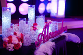 ping themed bat mitzvah candle lighting party perfect boca raton fl 561 994