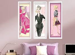 glamorous fashion wall decor