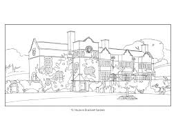 delighted house coloring book arts crafts houses