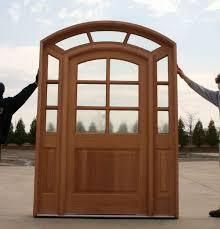 wooden model arch top interior doors design