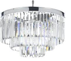 three tier chandelier the gallery crystal fringe 3 chrome finish chandeliers 5 glass