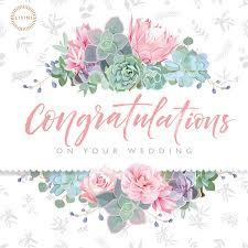 Congratulations On Your Wedding Gift Cards Lisini Pub