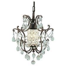 light chandelier mini light blue swarovski crystal chandelier earrings