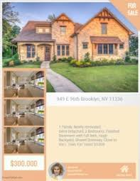 Create Free Open House Flyers Postermywall